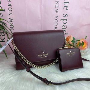 Kate Spade bundle of Convertible bag and wallet